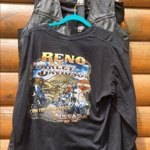 Harley Davidson EUC RENO Long Sleeve 2X